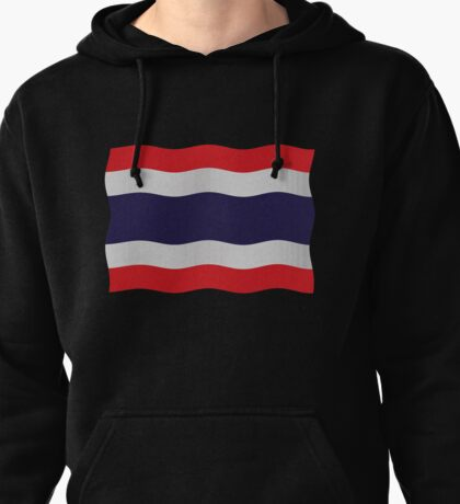 Thailand flag Pullover Hoodie