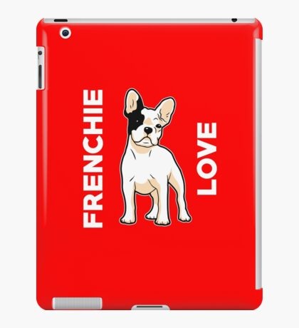 Frenchie Love Cute French Bulldog  iPad Case/Skin