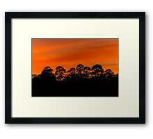 Yorkshire Dale Sunset Framed Print