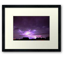 Electrifying Framed Print