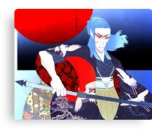 Kabuki Samurai Saïx Print Canvas Print