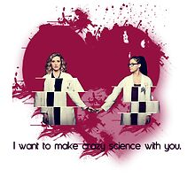 [I want to make crazy science with you] - Cophine by linked-pinkies