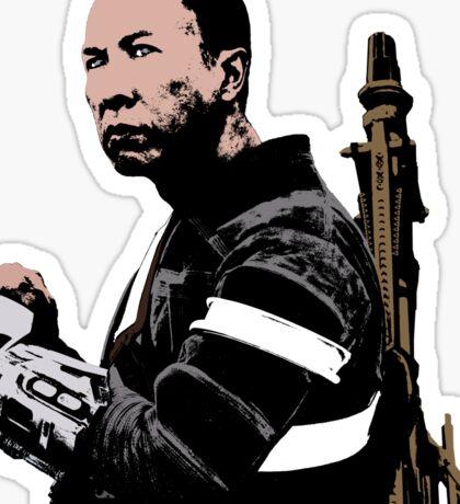 Chirrut Imwe - Star Wars: Rogue One - Black Sticker