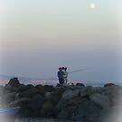 moon rising (2) by Rachel Veser