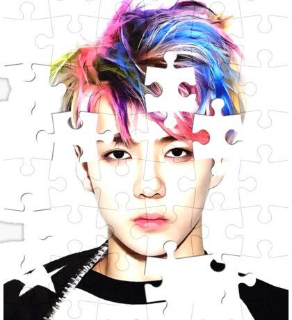 Sehoon(세훈),EXO(엑소),Kpop star,photo puzzle art Sticker