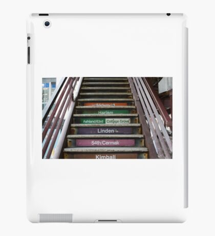 Chicago Loop CTA Train iPad Case/Skin