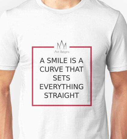 Target Thoughts - Smile Unisex T-Shirt
