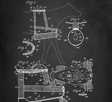 Dog Harness Patent 1945 by Patricia Lintner