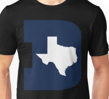 D Texas (Blue/White) Unisex T-Shirt
