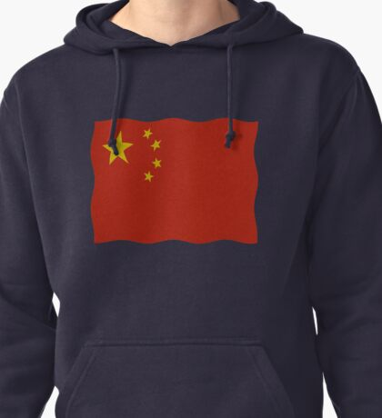 China flag Pullover Hoodie