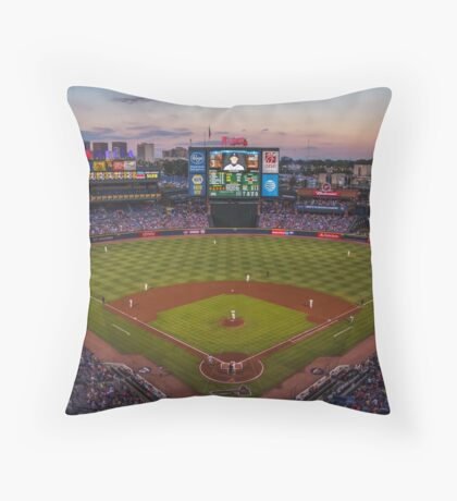 Turner Field Throw Pillow