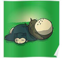 Sleepy friends Poster