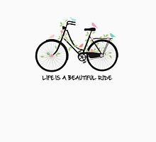 Life is a beautiful ride Womens Fitted T-Shirt