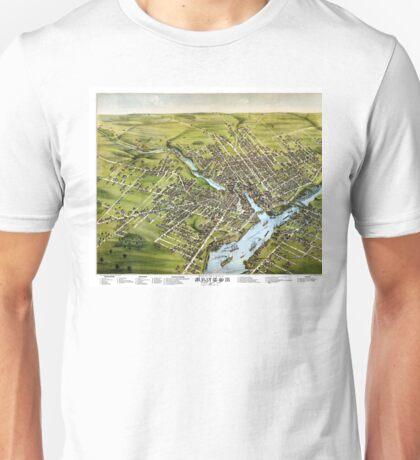 Bangor - Maine - 1875 Unisex T-Shirt