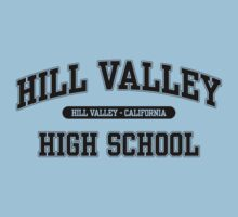 Hill Valley High School (Black) by ScreenSchools