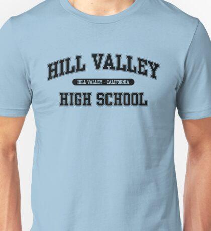 Hill Valley High School (Black) Unisex T-Shirt