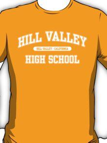 Hill Valley High School (White) T-Shirt