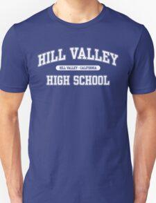 Hill Valley High School (White) Unisex T-Shirt