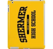 Shermer High School (Black) iPad Case/Skin