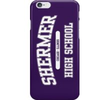 Shermer High School (White) iPhone Case/Skin