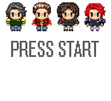 MCR - PRESS START by xofebruary