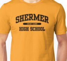 Shermer High School (Black) Unisex T-Shirt