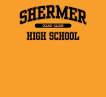 Shermer High School (Black) Unisex T-Shirt