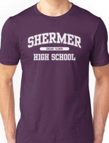 Shermer High School (White) Unisex T-Shirt