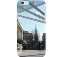 Coventry Precinct, early morning iPhone Case/Skin