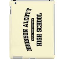 Bronson Alcott High School (Black) iPad Case/Skin