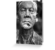 Statue 14 Greeting Card