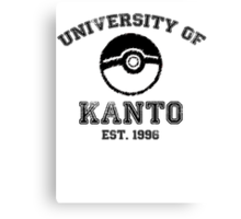 University of Kanto Canvas Print
