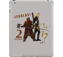 Gimli vs. Legolas iPad Case/Skin