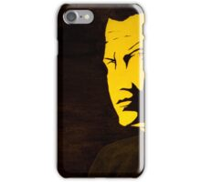 Steven Seagal - A look could kill iPhone Case/Skin