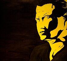 Steven Seagal - A look could kill by Antti Muranen