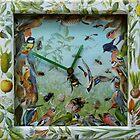 Summer Collage Clock. by - nawroski -