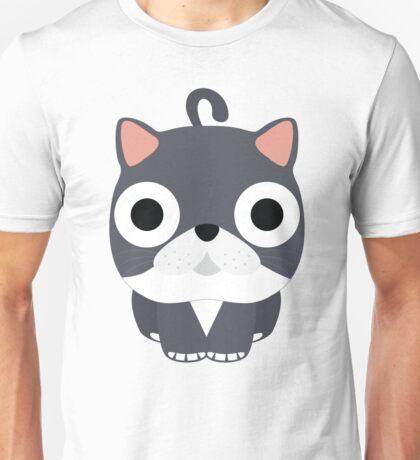 Exotic Cat Emoji Shock and Surprise Face Unisex T-Shirt