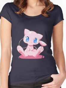 Pokemon - Mew  Women's Fitted Scoop T-Shirt