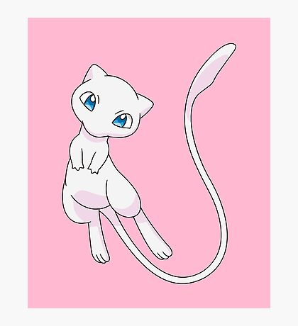 Pokemon - Mew  Photographic Print