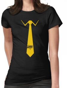 Lupin Central - Necktie Womens Fitted T-Shirt
