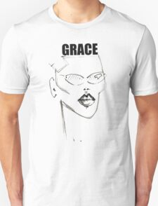 GRACE JONES WITH TEXT T-Shirt