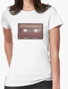 Cassette!  Womens Fitted T-Shirt