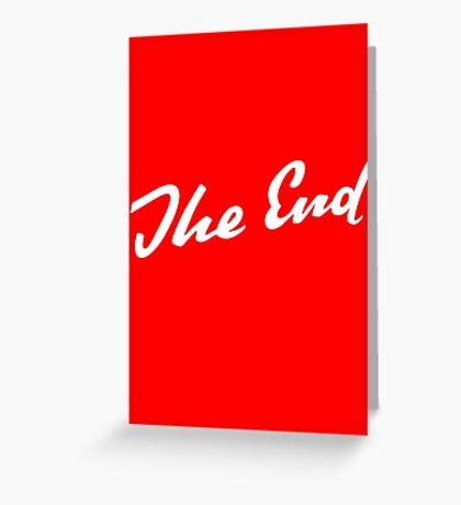Sherlock Elementary - The End Greeting Card