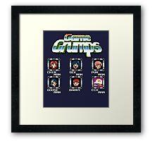 Game Grumps Megaman Framed Print