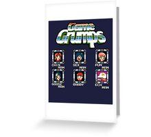Game Grumps Megaman Greeting Card