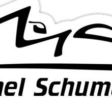 Michael Schumacher Signature (Sticker) Sticker