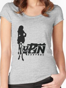 Femme Fatale Simple Women's Fitted Scoop T-Shirt