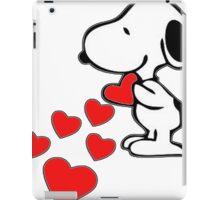 Snoopy amor iPad Case/Skin