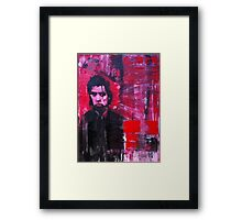 Nick Cave, The Bad Seed. Framed Print