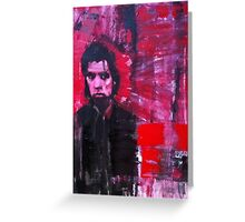 Nick Cave, The Bad Seed. Greeting Card